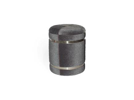 Пуфик houston (my interno) серый 38 см.