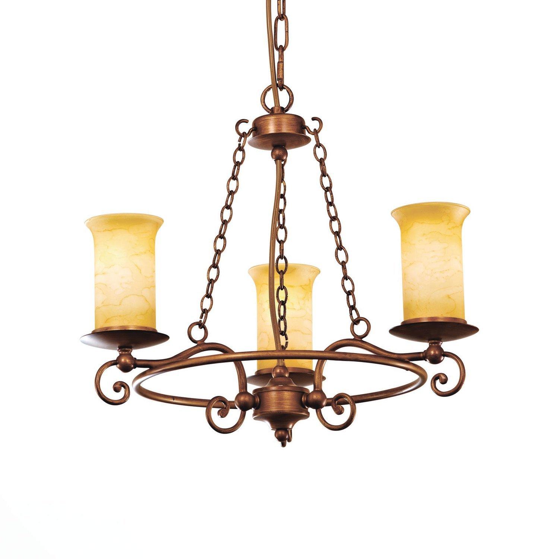 Люстра подвесная ancora (st luce) коричневый 40 см.