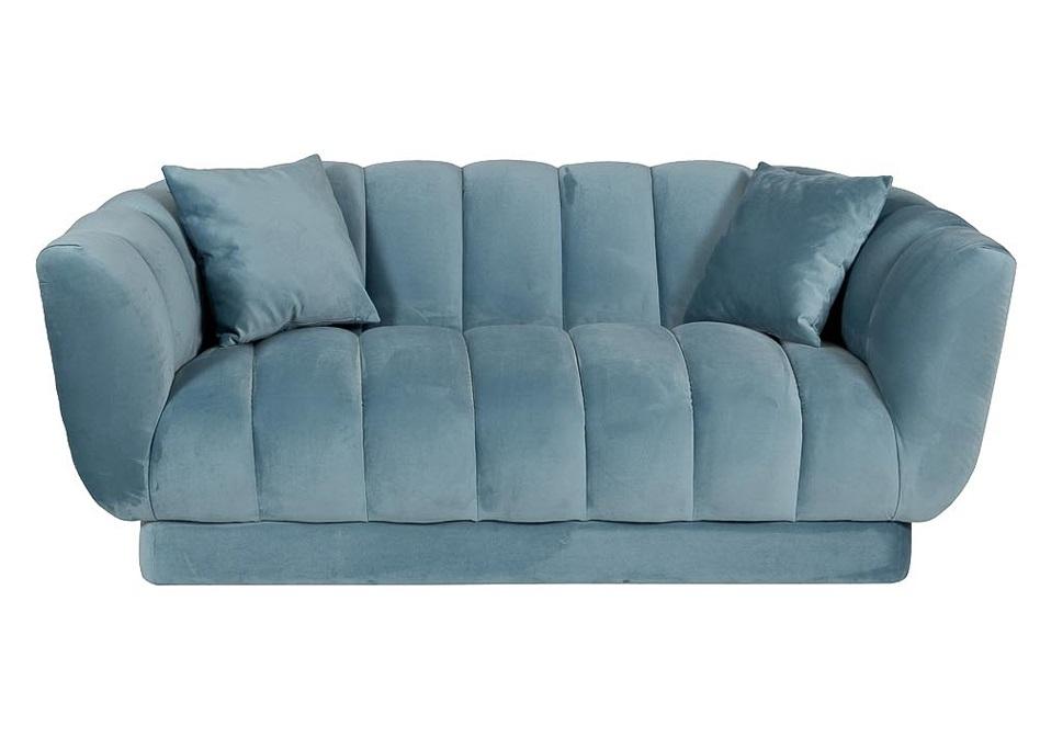 Garda decor диван fabio голубой 118049/2