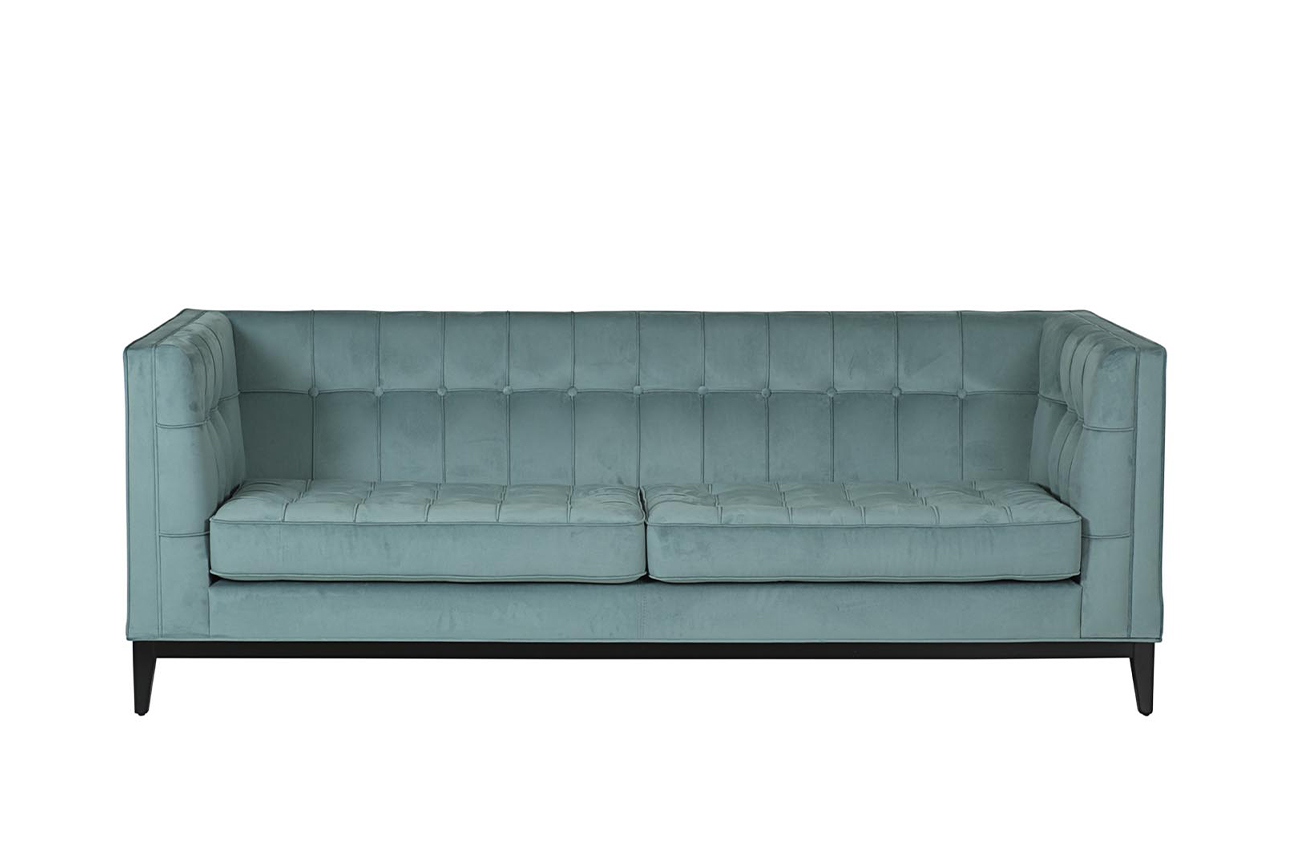 Garda decor диван palermo голубой 118052/6