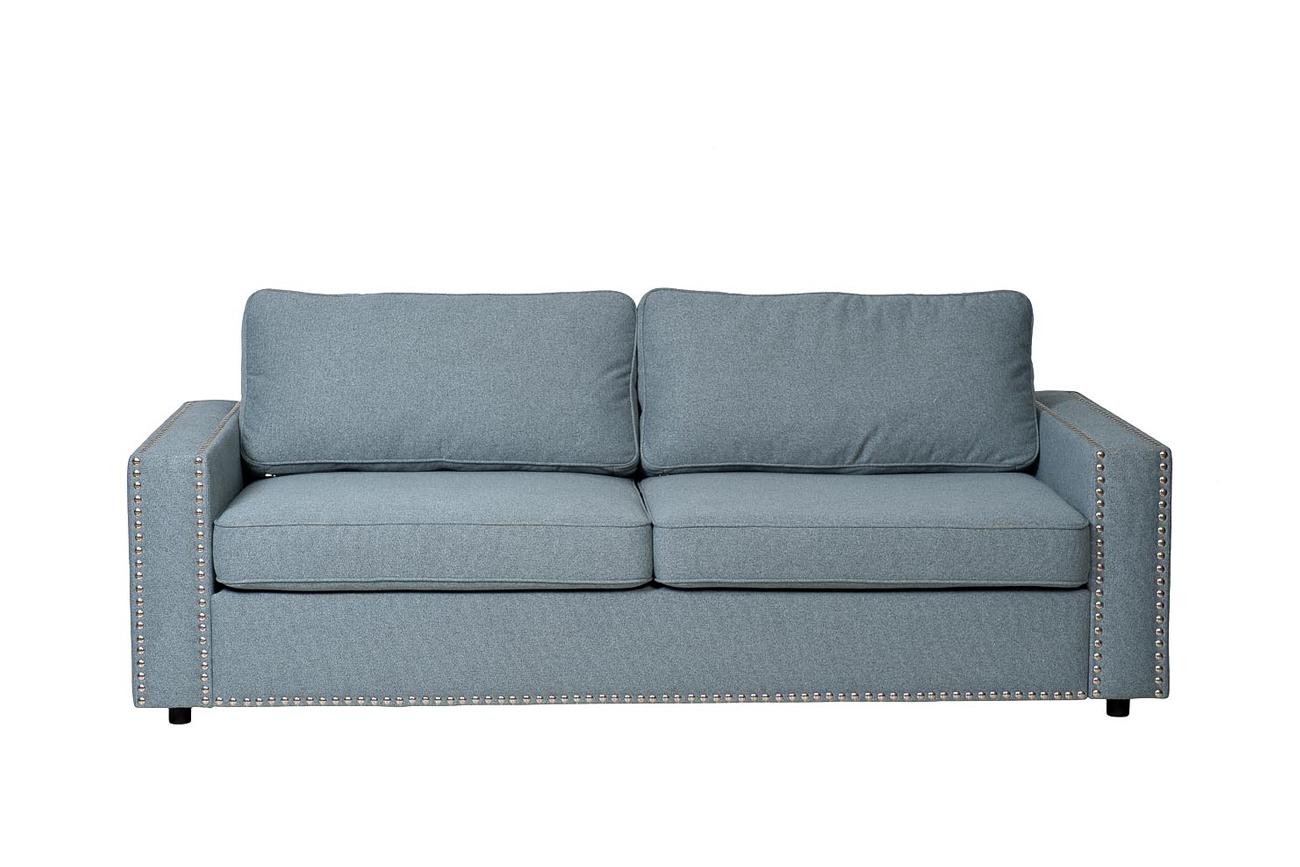 Garda decor диван oscar голубой 118057/118105