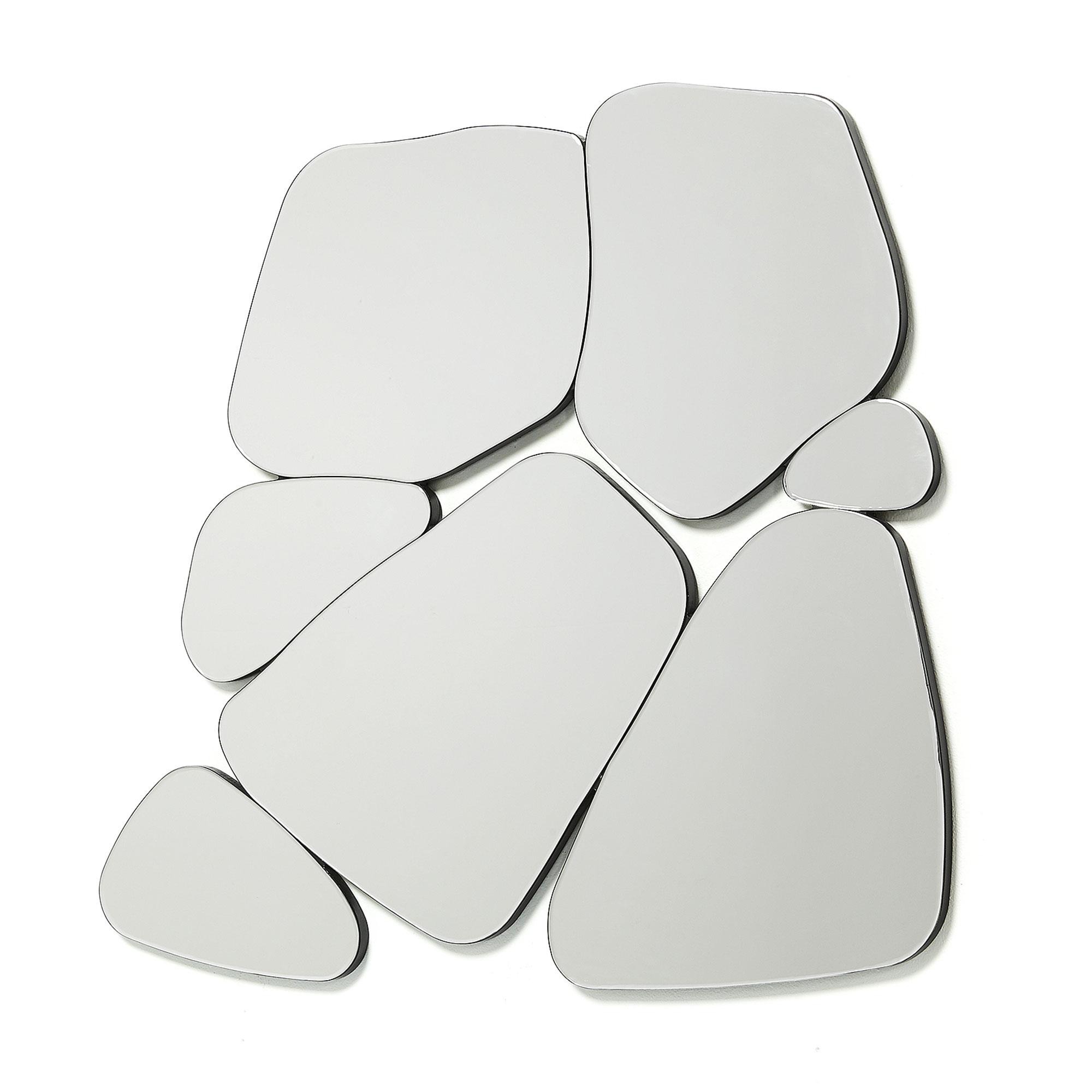 Зеркало stancy (la forma) черный 99x91x2 см.
