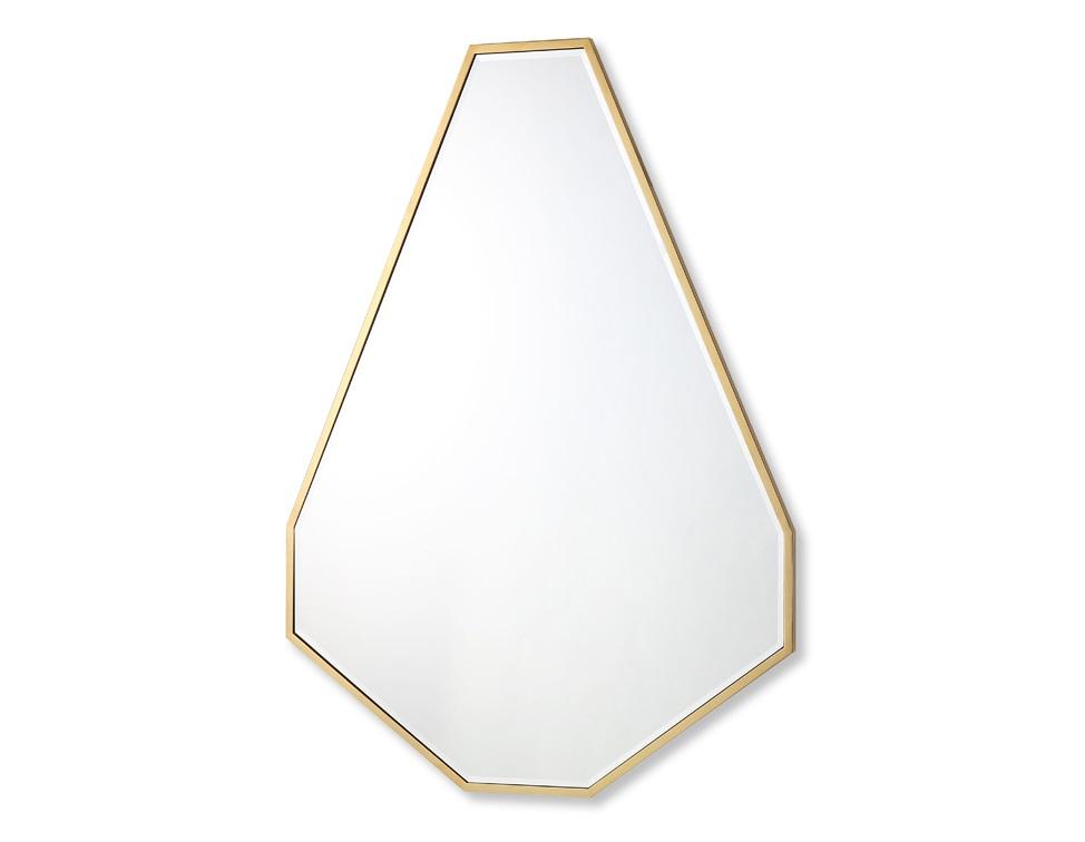 Зеркало в металлической раме (garda decor) золотой 120x160 см.