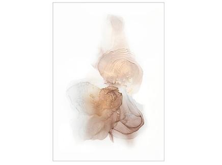 Постер лик нежности (garda decor) мультиколор 70x100 см.