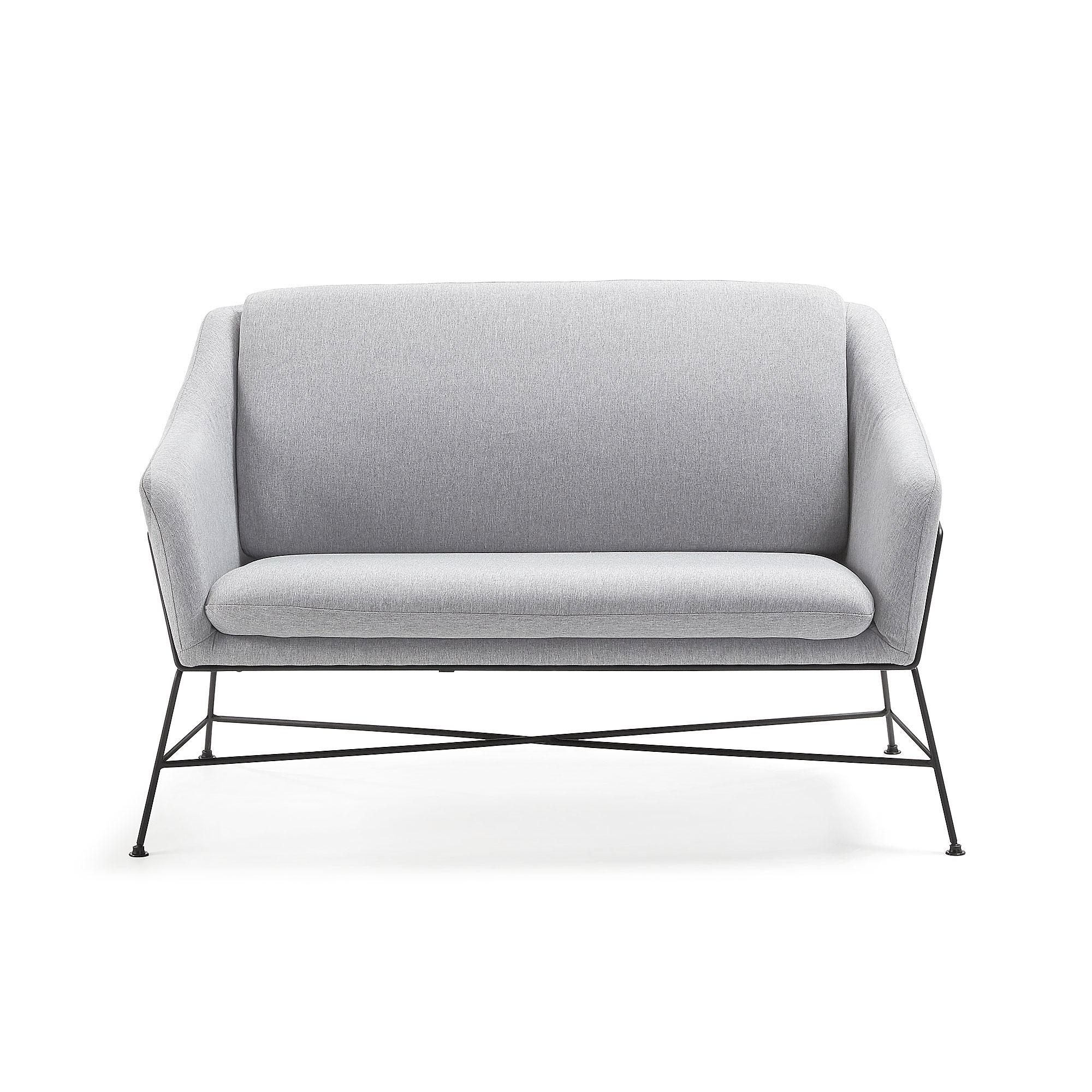La forma диван двухместный brida серый 118407/7
