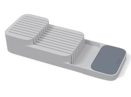 Органайзер для ножей drawerstore (joseph joseph) серый 39x14x7 см.