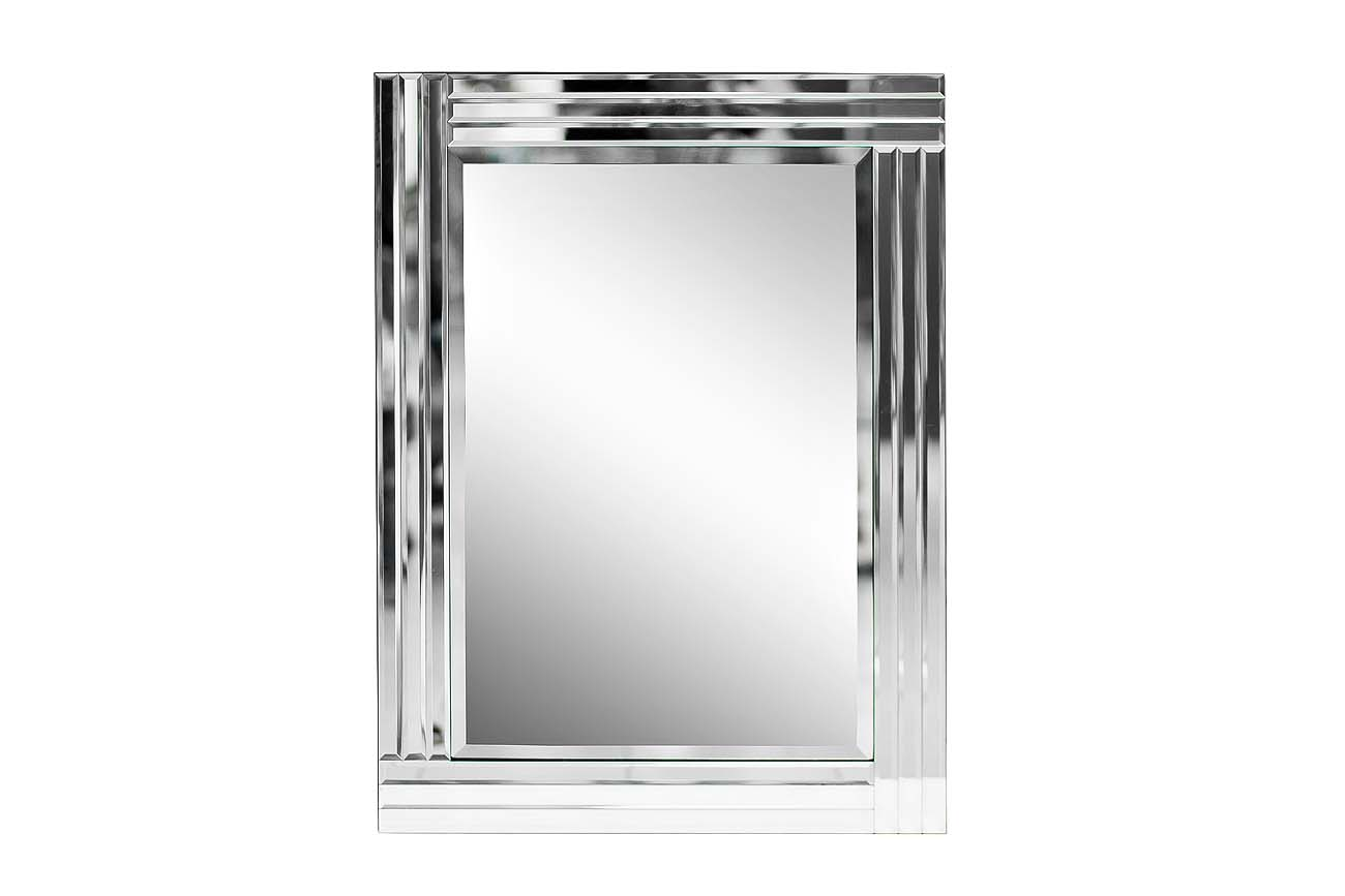 Зеркало настенное (garda decor) серебристый 60x80x1 см.