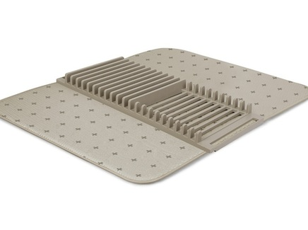 Коврик для сушки посуды udry (umbra) бежевый 46x4x61 см.