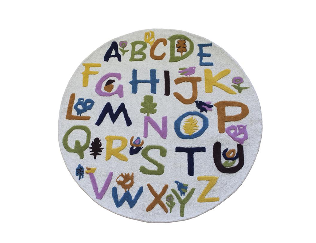 Ковер Kindergarden-II roundДетские ковры<br>&amp;lt;div&amp;gt;Этот ковер – отличное сочетание красивого с полезным. Дети постарше смогут по нему, как по книге, изучить английский алфавит. Малыши научатся различать цвета и оттенки. А совсем крохи получат полезный тактильный опыт: ворс различается по плотности и высоте, очень приятен на ощупь. Изделие выполнено в технике ручного фатинга с объемной 3D-стрижкой.&amp;lt;/div&amp;gt;&amp;lt;div&amp;gt;&amp;lt;br&amp;gt;&amp;lt;/div&amp;gt;&amp;lt;div&amp;gt;Состав: 100% шерсть (50% новозеландской/50% биканерской шерсти высшей категории).&amp;lt;/div&amp;gt;<br><br>Material: Шерсть<br>Length см: None<br>Width см: None<br>Depth см: None<br>Height см: None<br>Diameter см: 150.0