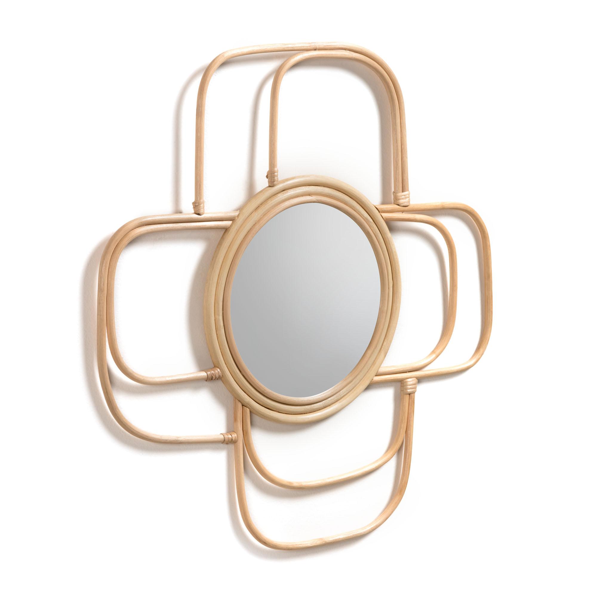 Зеркало maeve (la forma) бежевый 62x62x2 см.