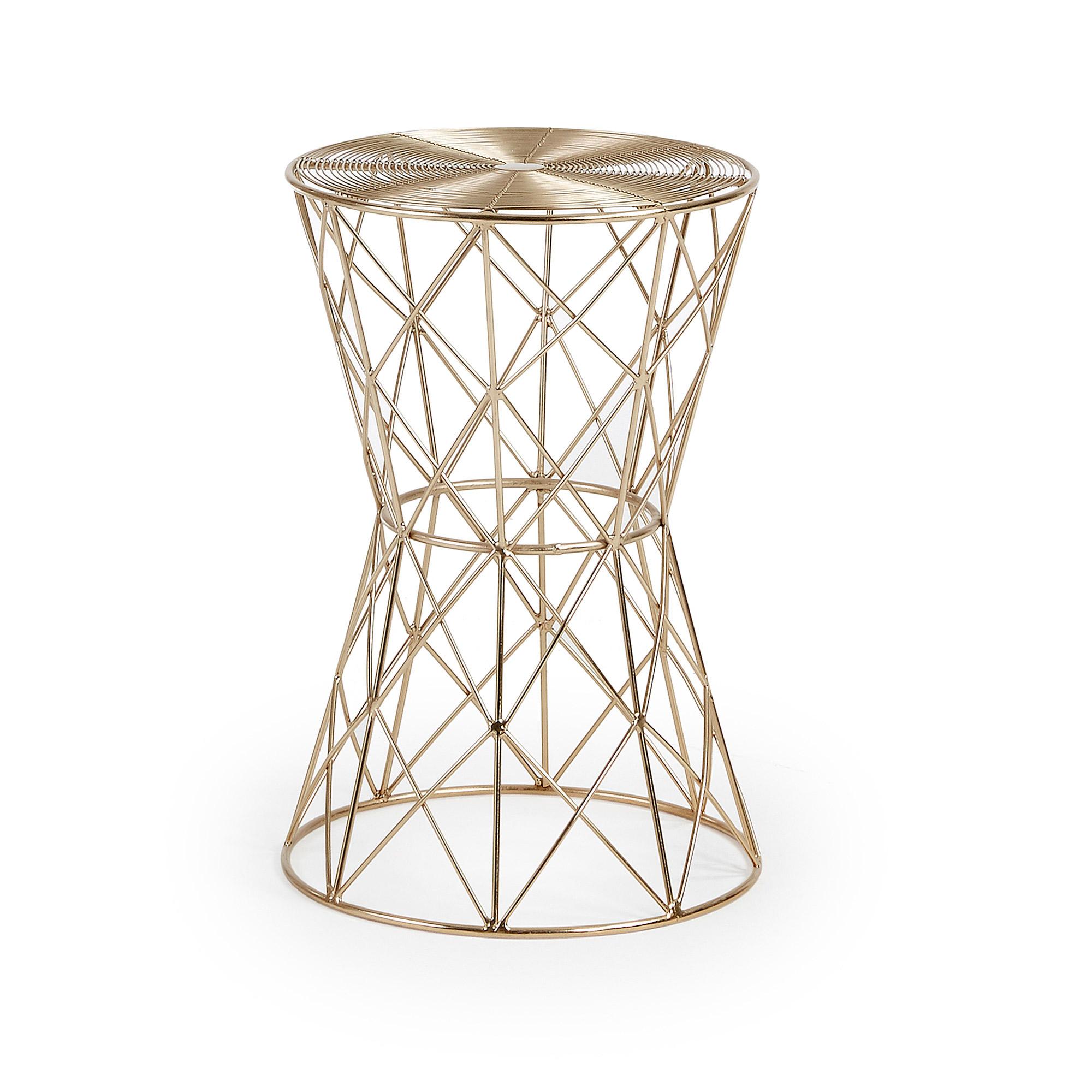 Латунный столик ione (la forma) золотой 46 см.