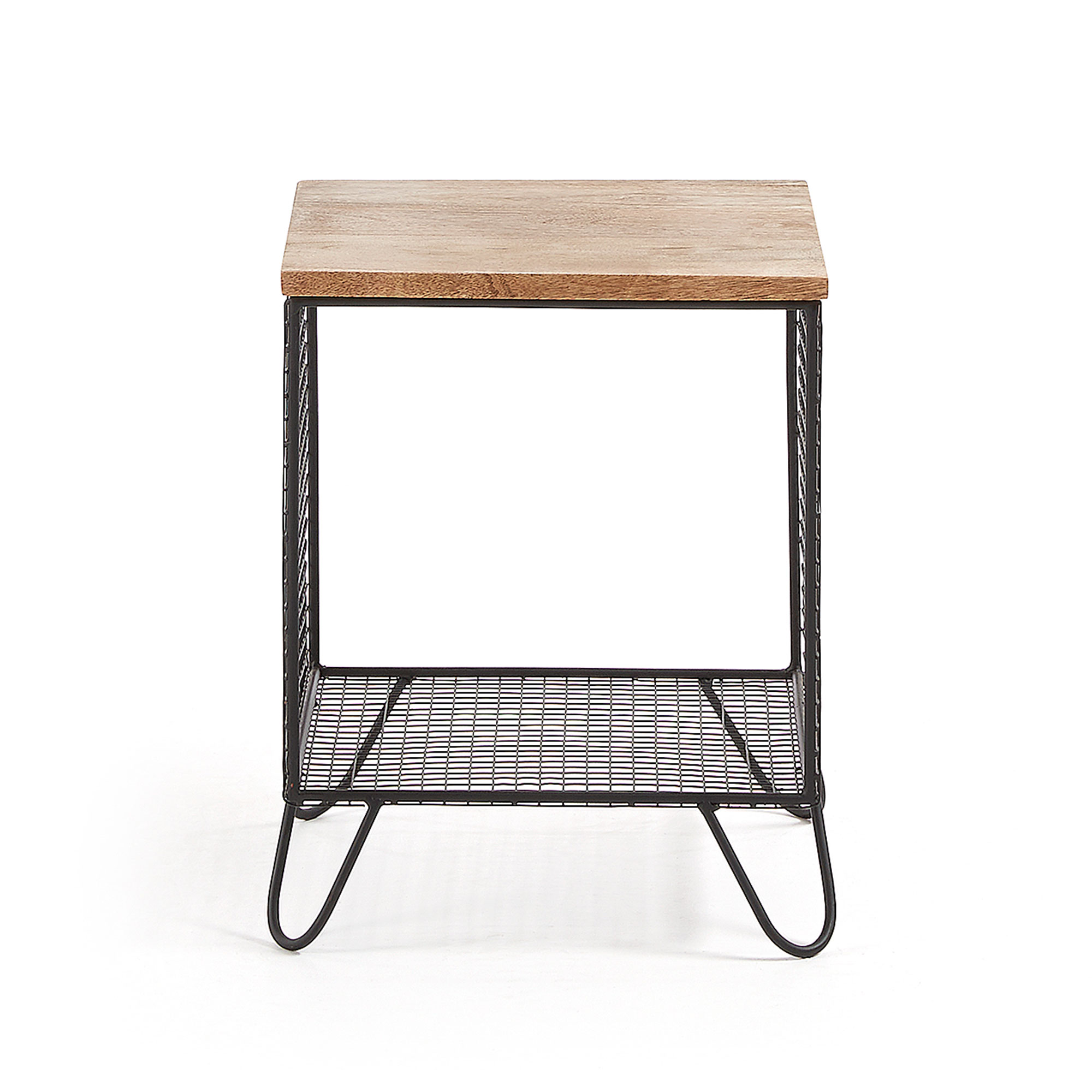 Столик interni (la forma) черный 38x48x38 см.