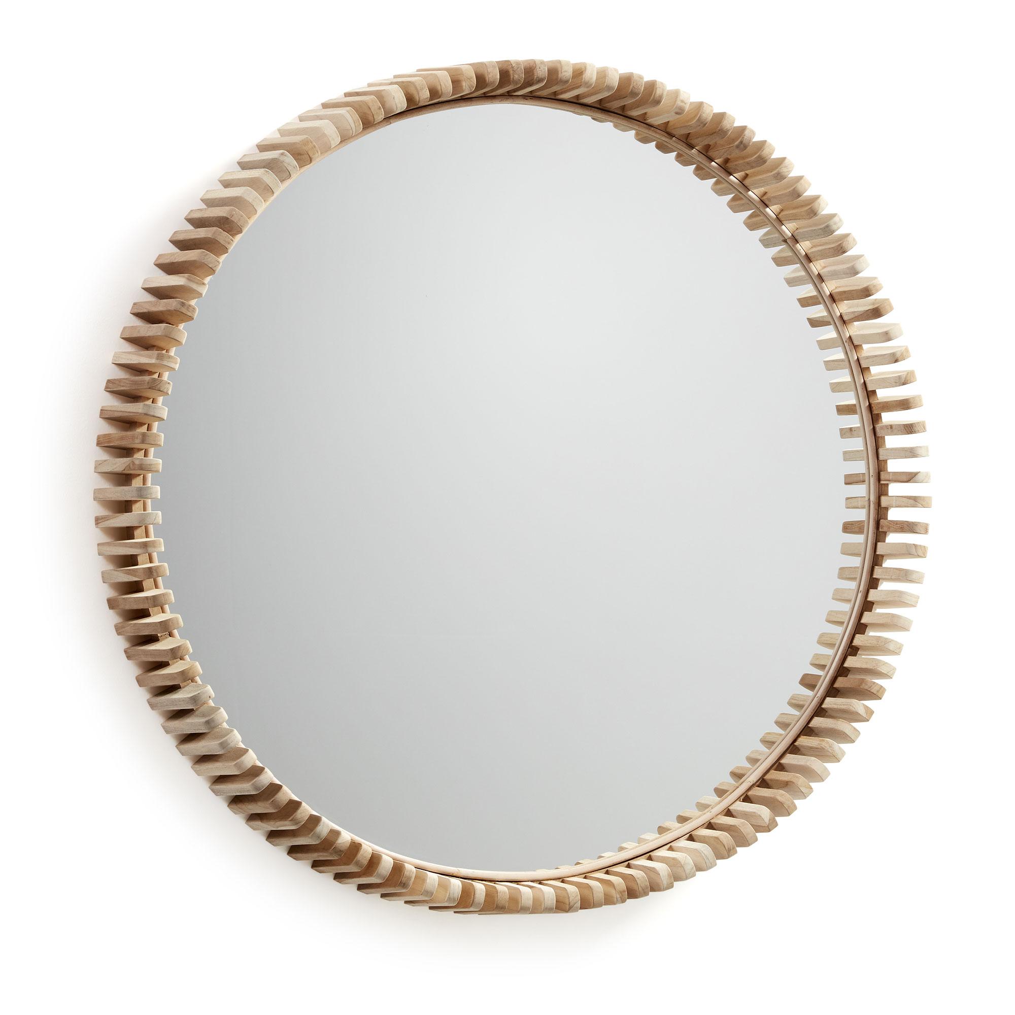 Зеркало porter (la forma) коричневый 13 см.