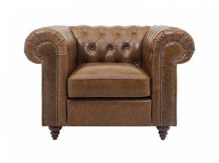 Кресло chester classic (ogogo) коричневый 107x75x80 см.