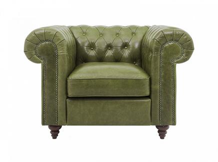 Кресло chester classic (ogogo) зеленый 107x75x80 см.