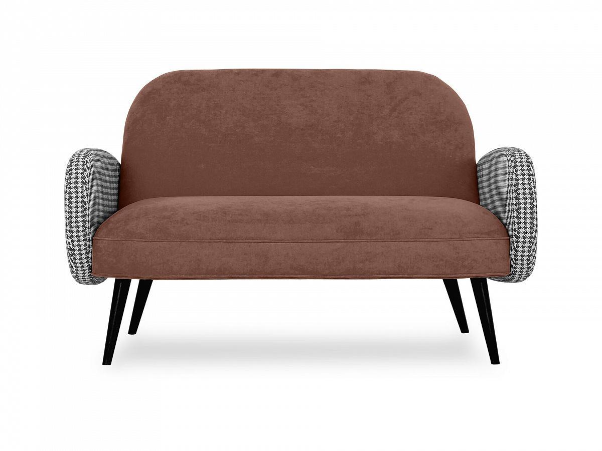Ogogo диван двухместный bordo коричневый 118912/8