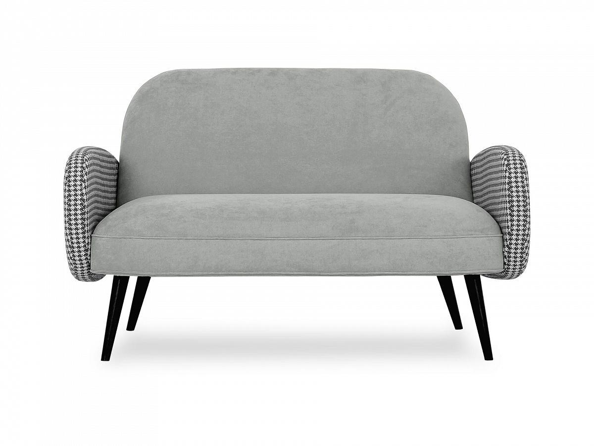 Ogogo диван двухместный bordo серый 118911/2