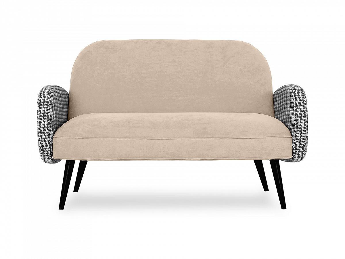 Ogogo диван двухместный bordo бежевый 118914/2