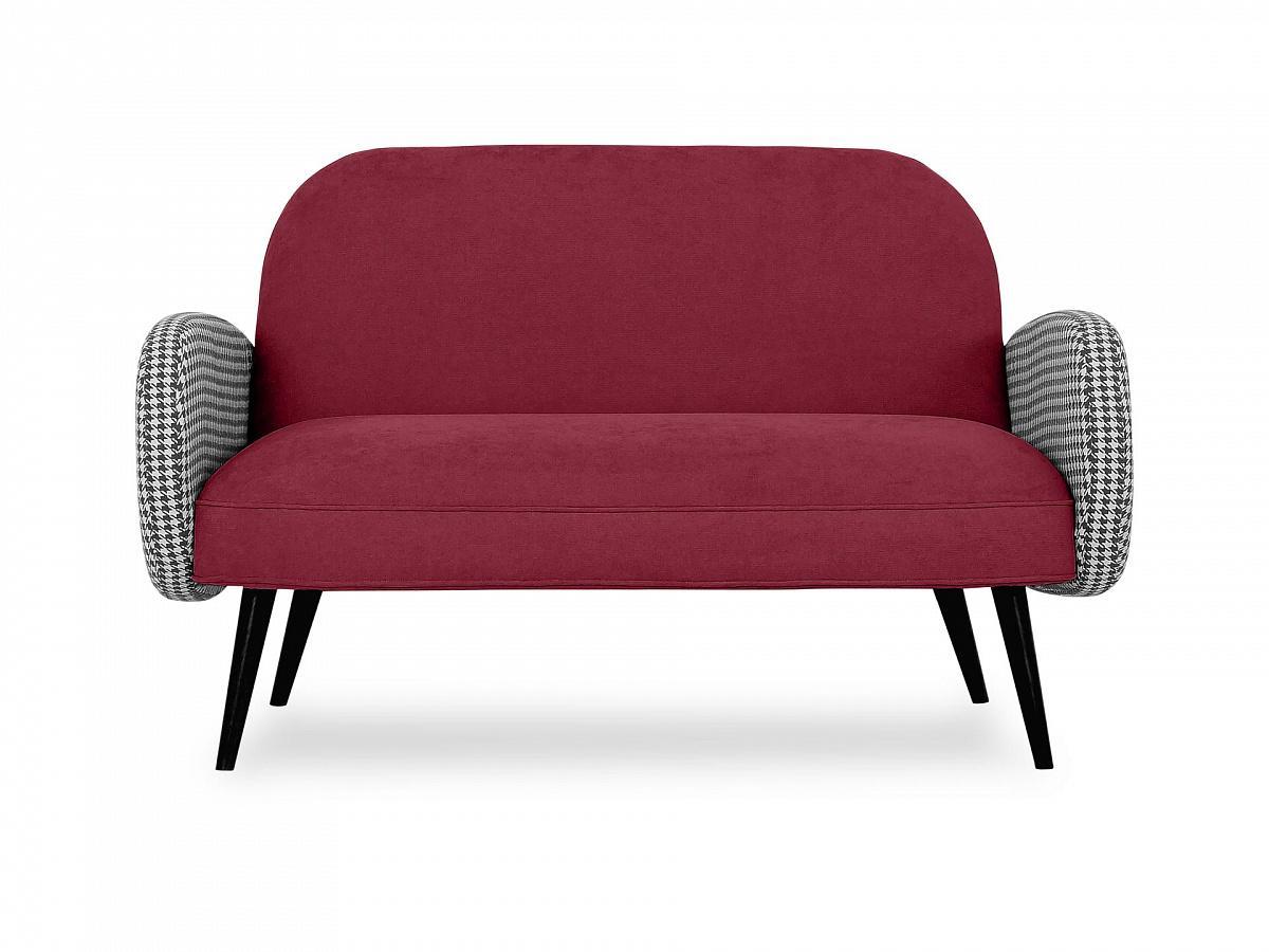 Ogogo диван двухместный bordo красный 118916/7