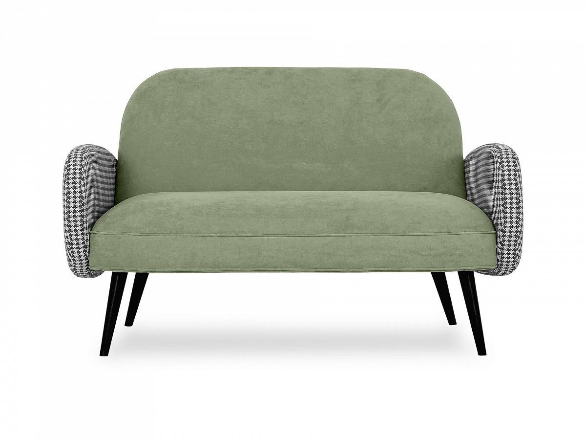 Ogogo диван двухместный bordo зеленый 118917/4
