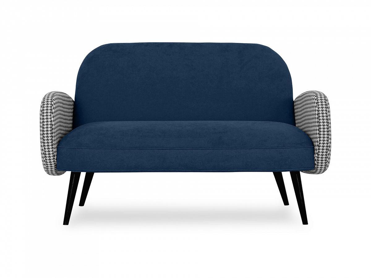 Ogogo диван двухместный bordo синий 118921/3