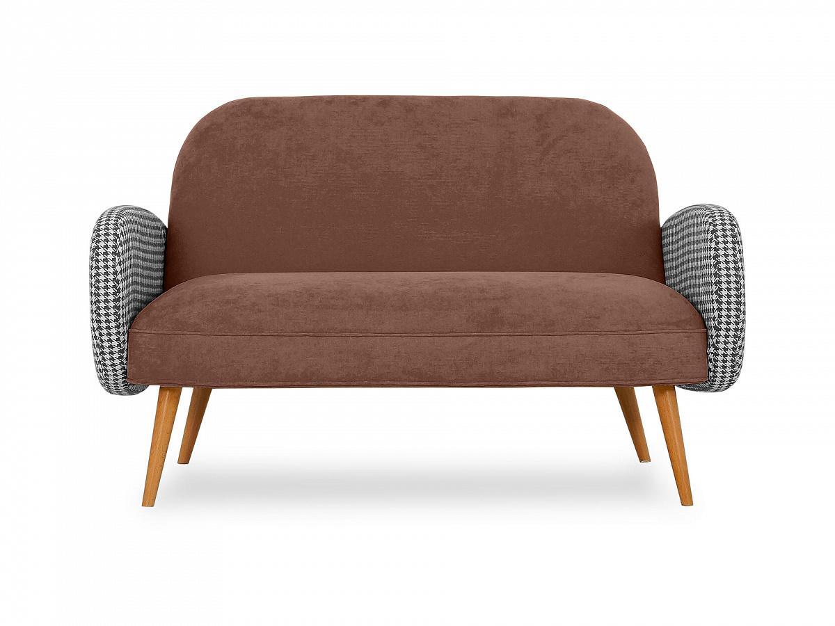 Ogogo диван двухместный bordo коричневый 118922/7
