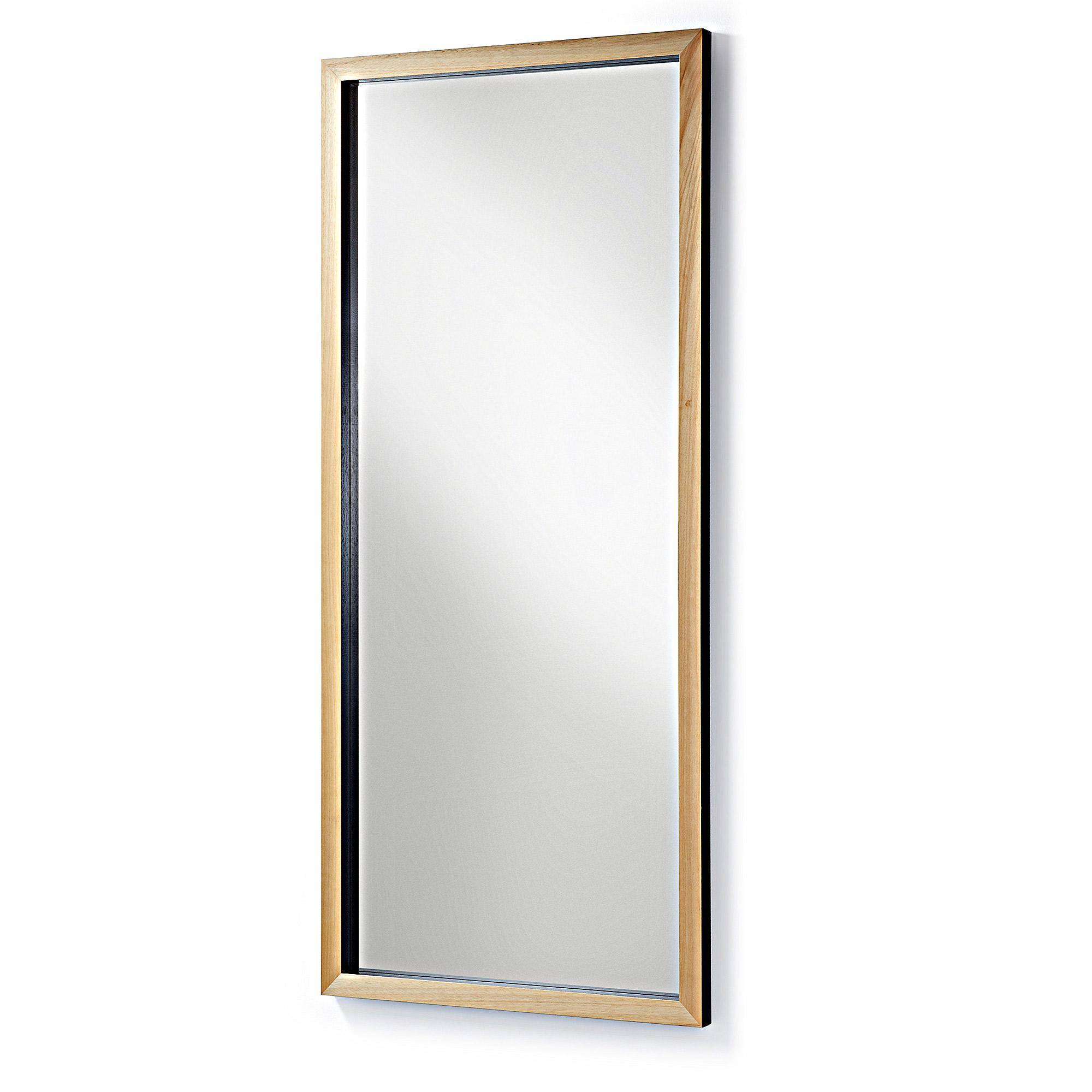 Зеркало drop (la forma) черный 78x178x4 см.