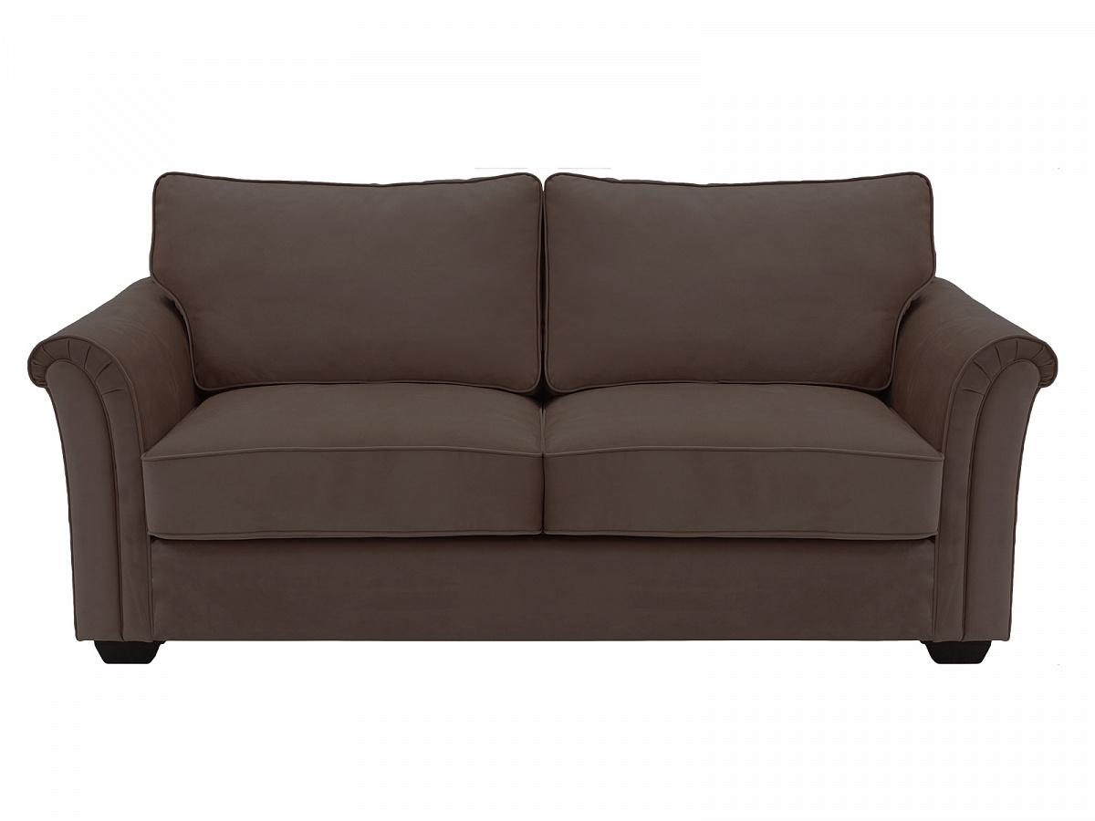 Ogogo диван-кровать двухместный sydney коричневый 118935/6