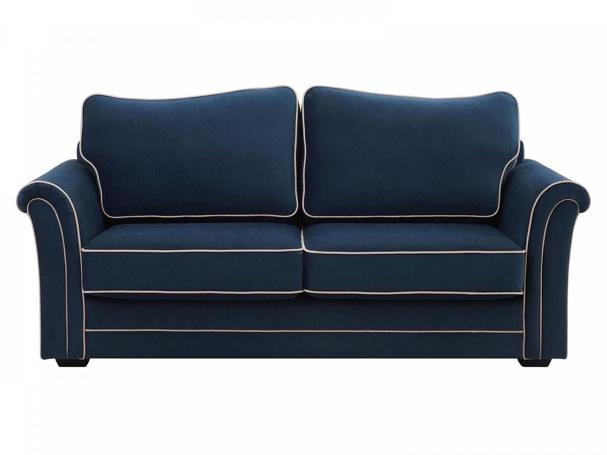 Ogogo диван двухместный sydney синий 118939/9