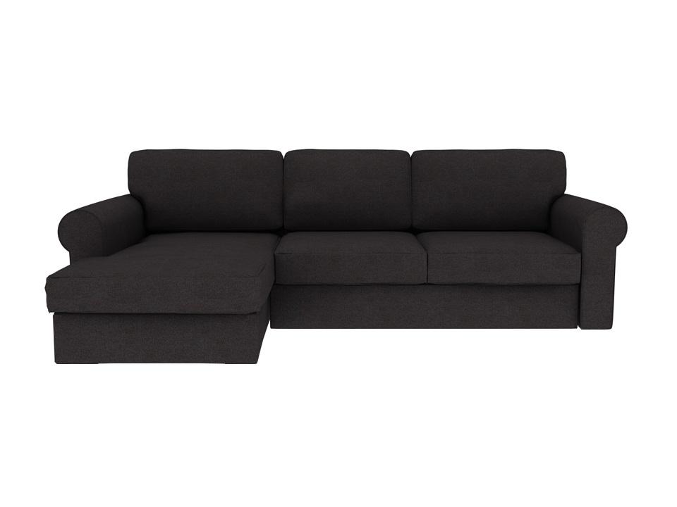 Ogogo диван murom черный 118941/2