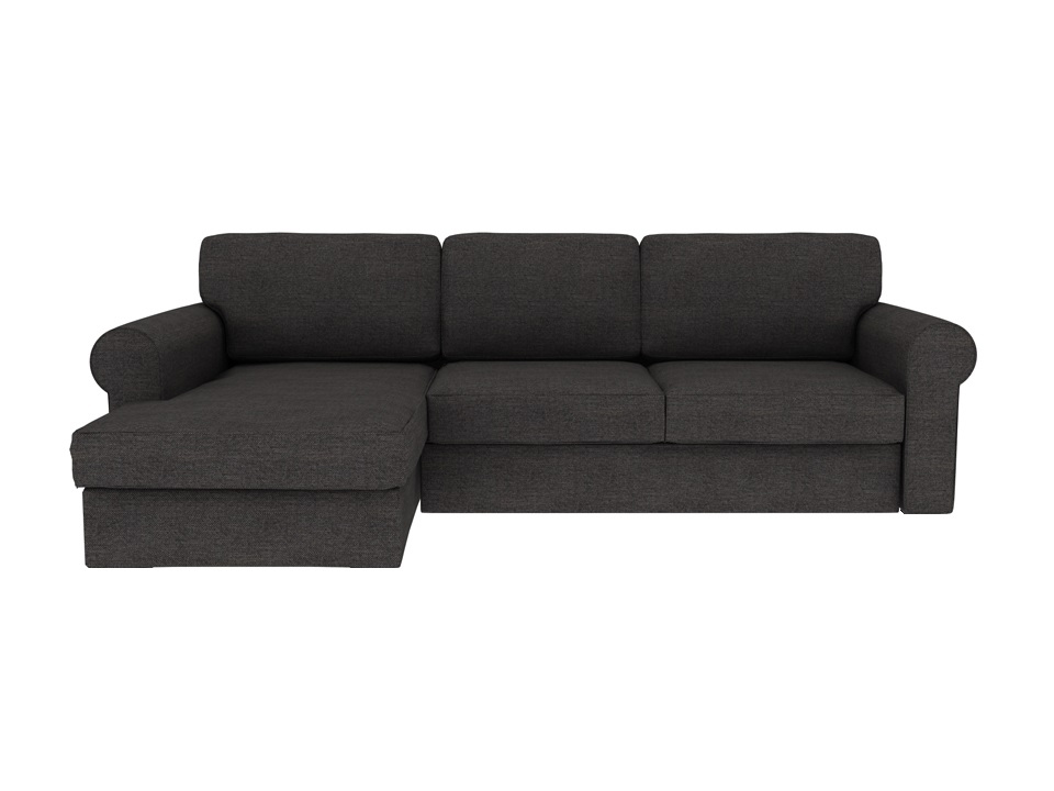 Ogogo диван murom черный 118942/1