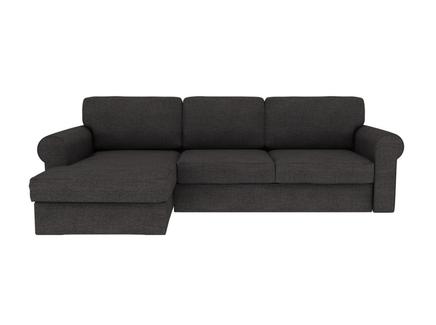 Диван murom (ogogo) черный 245x95x167 см.