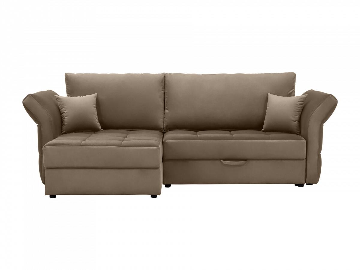 Ogogo диван wing коричневый 118952/3