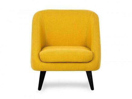 Кресло corsica (ogogo) желтый 74x77x85 см.