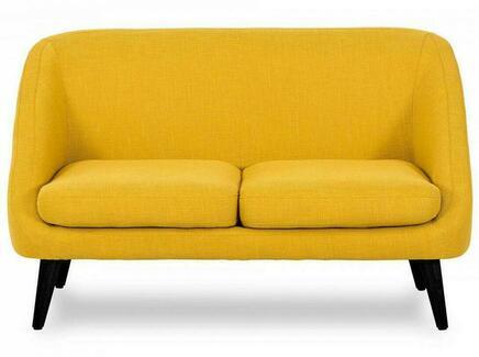 Диван corsica (ogogo) желтый 130x77x85 см.