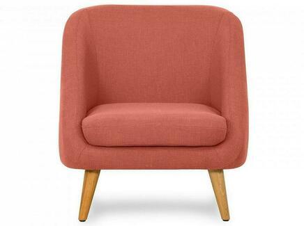 Кресло corsica (ogogo) оранжевый 74x77x85 см.