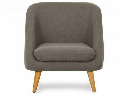 Кресло corsica (ogogo) коричневый 74x77x85 см.