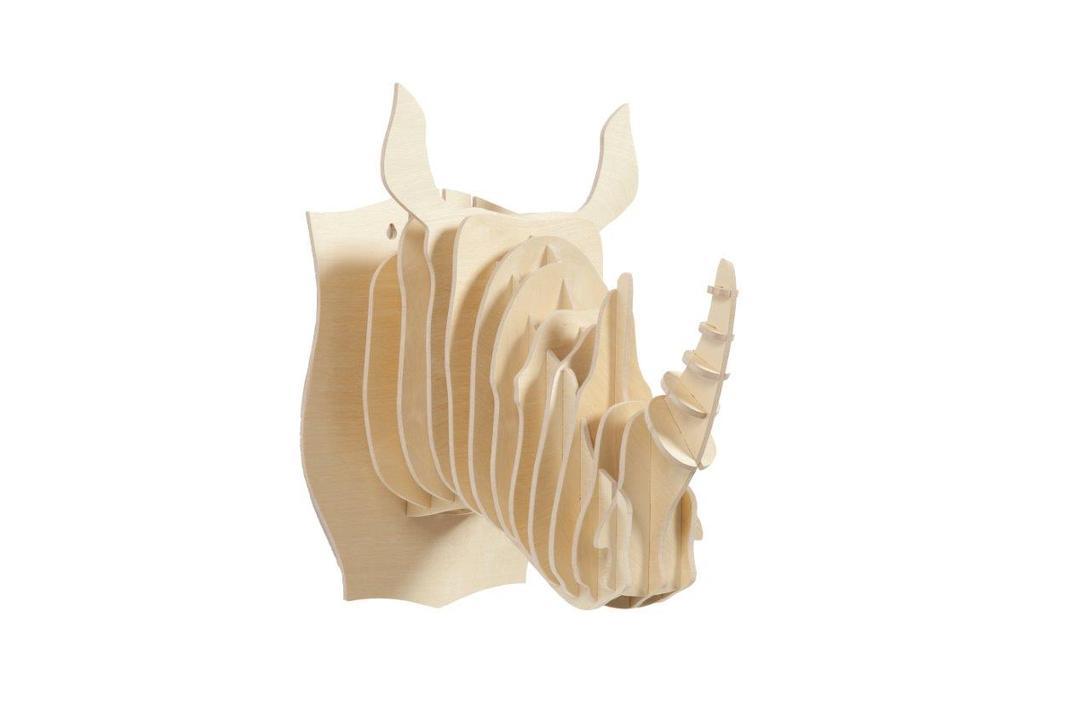 Декоративная голова носорога Danseur IvoryФигуры<br>Цвет: слоновая кость<br><br>Material: МДФ<br>Length см: None<br>Width см: 27.0<br>Depth см: 40.0<br>Height см: 38.0<br>Diameter см: None