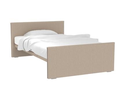 Кровать studio (ogogo) бежевый 140x80x219 см.