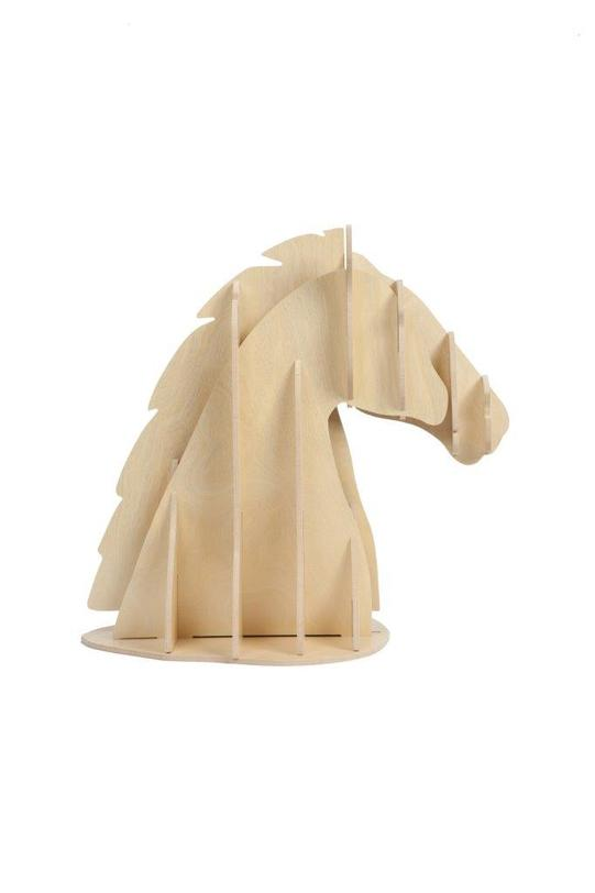 Декоративная голова лошади Vixen Light BrownСтатуэтки<br>Цвет: слоновая кость<br><br>Material: МДФ<br>Ширина см: 27<br>Высота см: 39