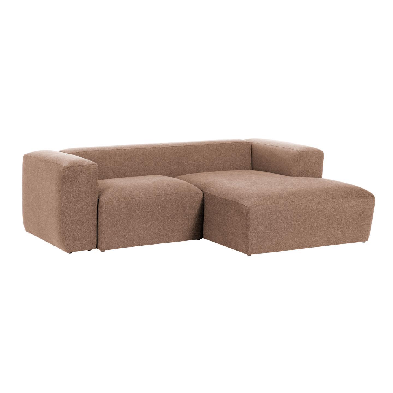 La forma диван-шезлонг blok коричневый 119204/9