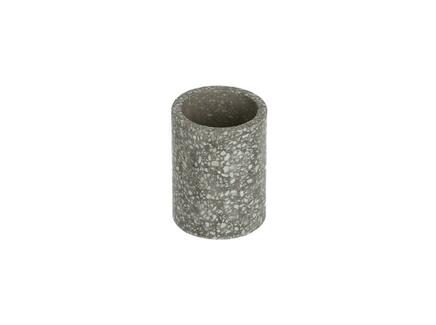 Стакан для ванной hiara (la forma) серый 8 см.