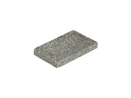 Мыльница aixa (la forma) серый 9x3x14 см.