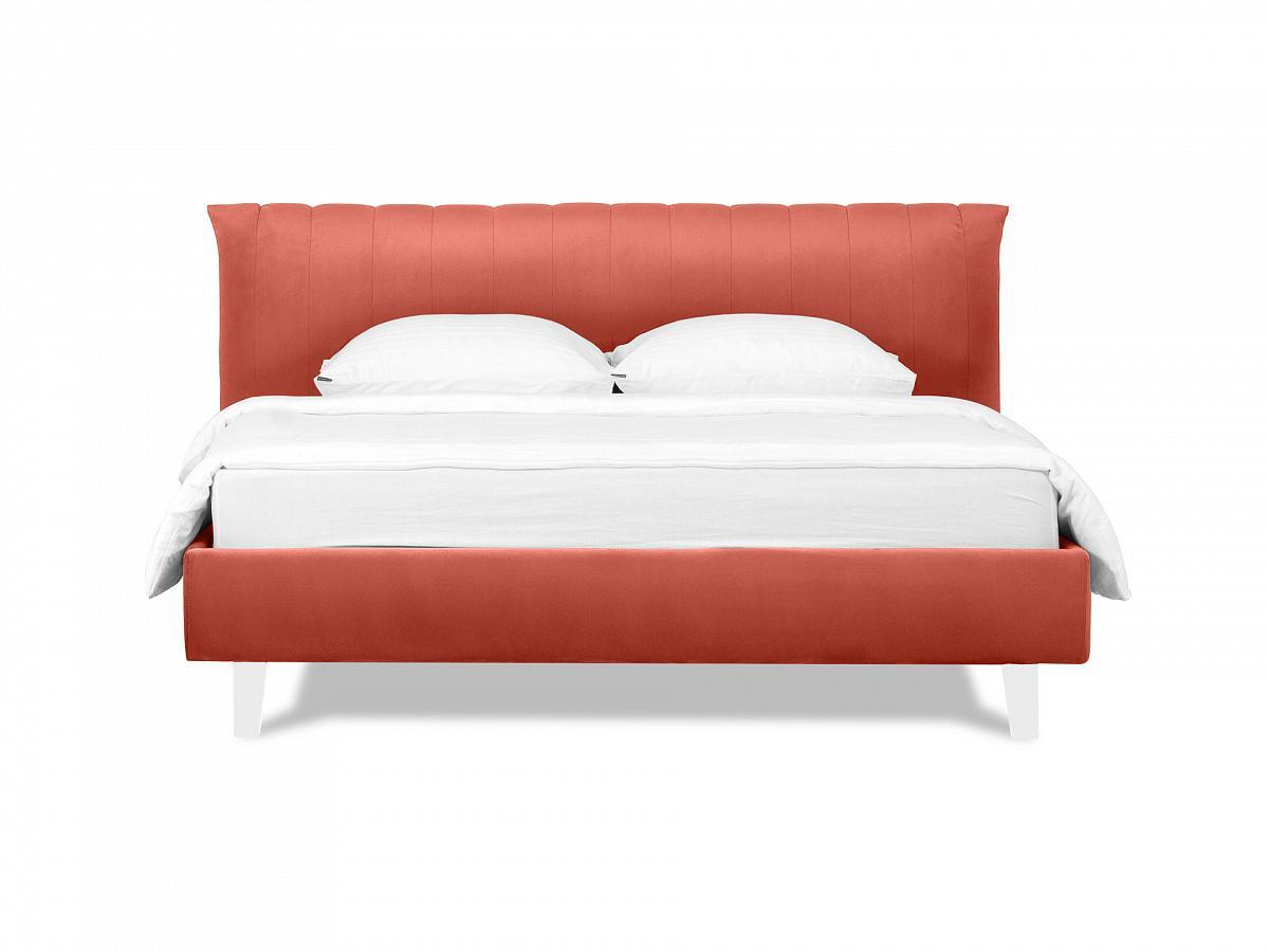 Ogogo кровать queen anastasia оранжевый 119295/3