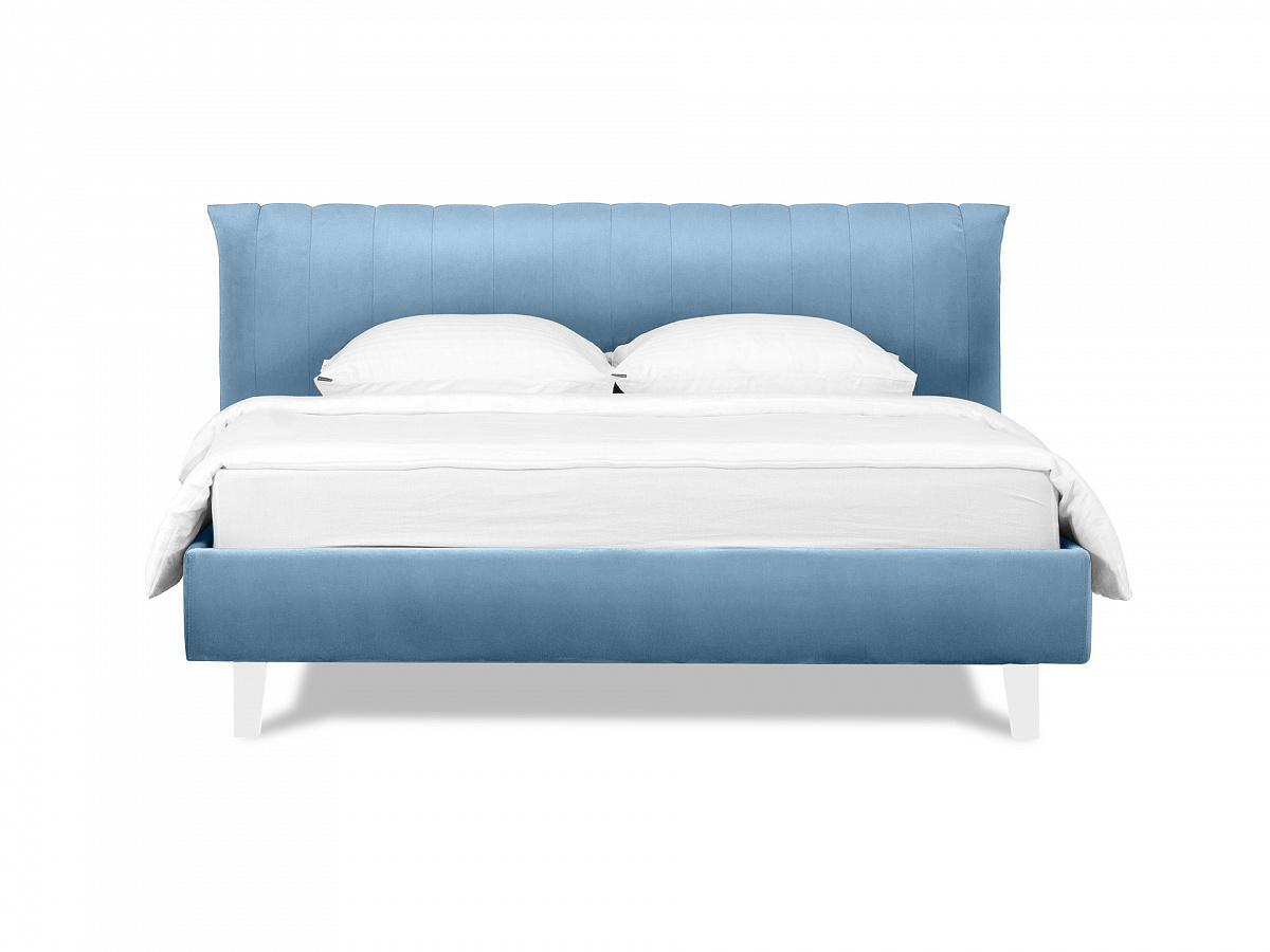 Ogogo кровать queen anastasia голубой 119297/4