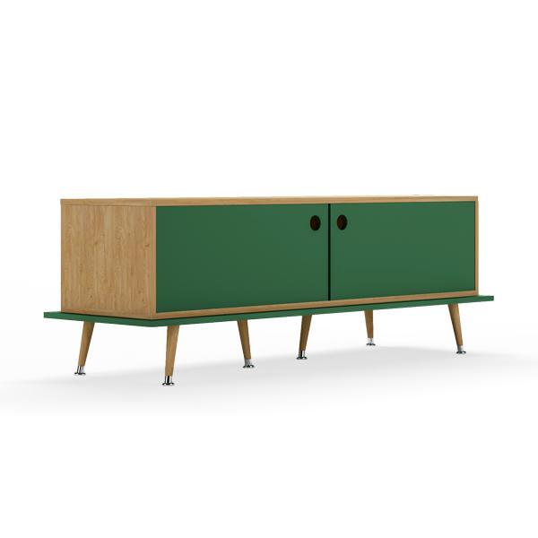Тумба woodi (woodi) зеленый 159x53x50 см.