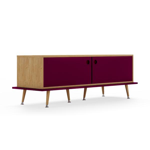 Тумба woodi (woodi) фиолетовый 159x53x50 см.