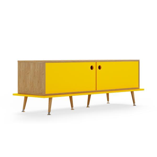 Тумба woodi (woodi) желтый 159x53x50 см.