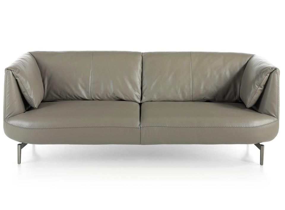 Angel cerda диван трехместный kf2020-3p-m5655 серый 119436/7