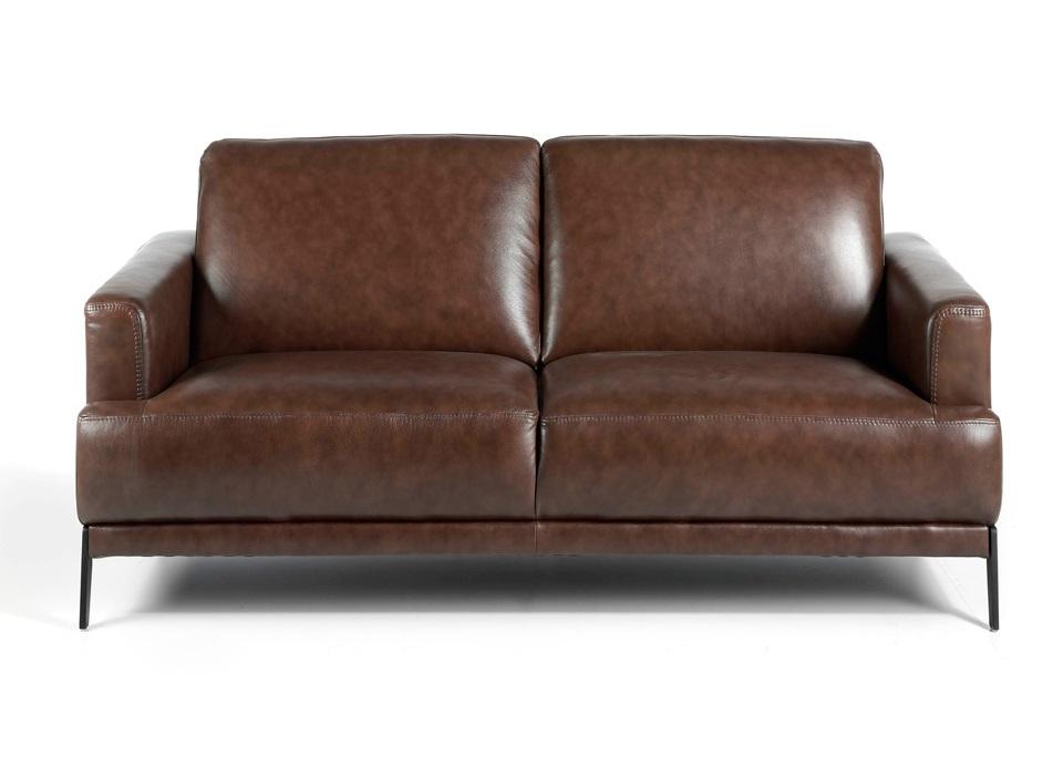 Angel cerda прямой диван 5653-2p-m1595 коричневый 119439/2